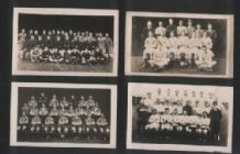 4 early 1922-3 Football trade cards #490